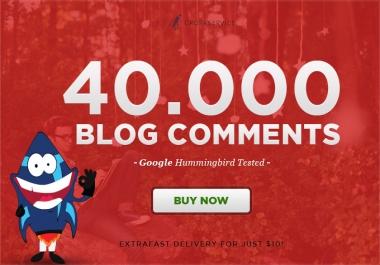 make 40,000 SEO blog comment backlinks scrapebox linkjuice, Order Now for