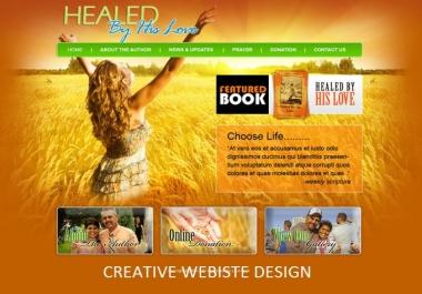 I will setup basic wordpress blog website