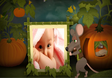 Kids Animated Fun - Little Mouse Photo Show