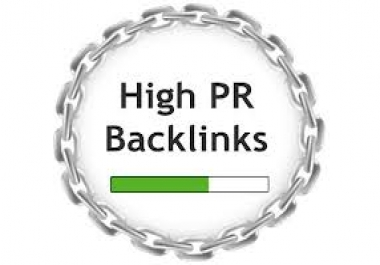 do 30 Pr 10 SEO high pr backlinks