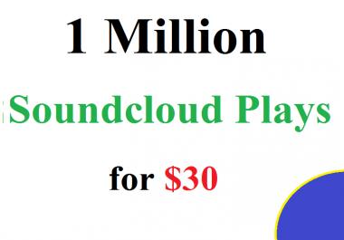 Buy 1 Million Soundcloud Plays