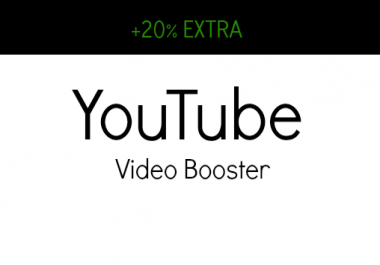 VIDEO BOOSTER - ADD 25 Likes + 25 Favorites + 3 Comments To Your Video
