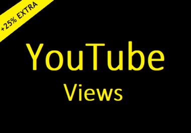 Organic Video Promotion Views 500+