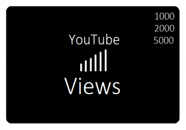 Video Views Promotion 1.000