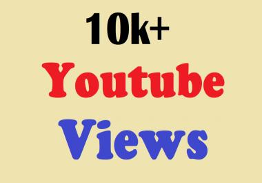 provide you 10000 10k HR YouTube views