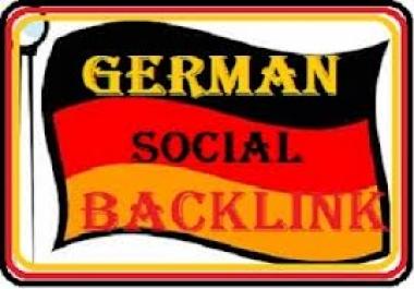 create 150 backlinks on GERMAN DE blog domains