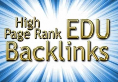 Provide 25 PR1 to PR4 Edu backlinks using blog comments