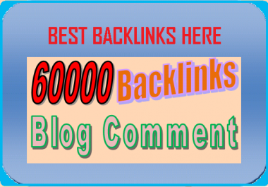 create 60000 Massive Blog Comments +Ping For your website and provide complete report of my work