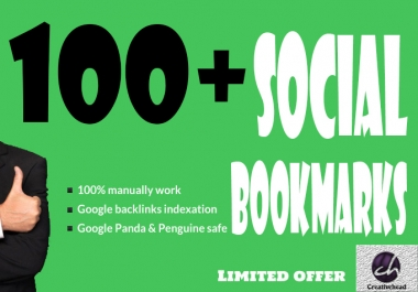 will Bookmark your site to 100 unique Social Bookmarking sites only