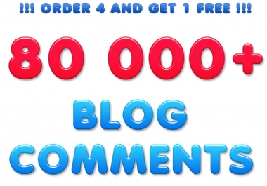 make MASSIVE 80 000 Live backlinks with Blog Comments,use unlimited URLs and KWs @@##