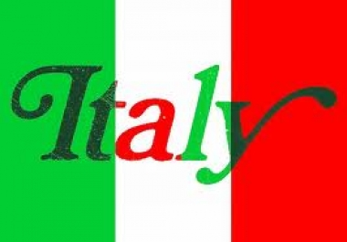 send Keyword,Age,Gender  Targeted UNLIMITED Real Traffic from ITALY for 1 month