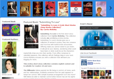 I will promote your book or ebook on our site