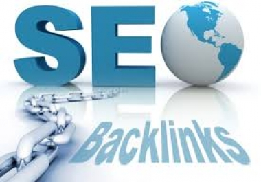 i give you most powerful  backlinks  only