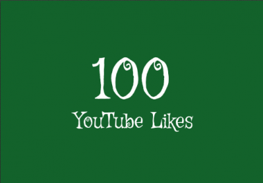 100+ Real YouTube Likes Within 24 Hours