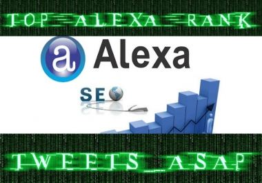 I will boost your website Alexa Rank to the TOP