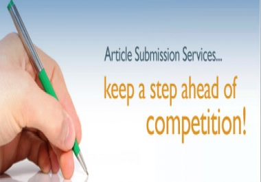 write 1 high quality, 500 plus word article, that it will submit to seo optimized