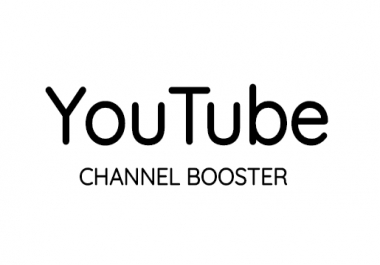 YouTube Account Booster Package 24 Hours Delivery
