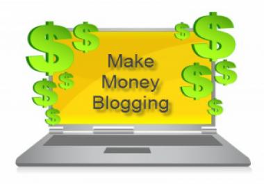 Earn Money Online via Blogging