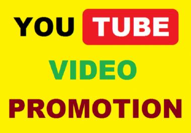 YouTube social Media Video Marketing  Promotion