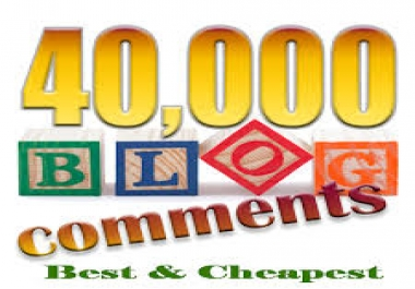 I will make 40,000 SEO blog comment backlinks scrapebox linkjuice, Order Now for