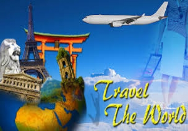 Promote your Travel link on my 2xPR4 1xPR5 Travel website PERMANENT