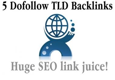 build 5 Dofollow FRENCH Domain Specific SEO Website Backlinks