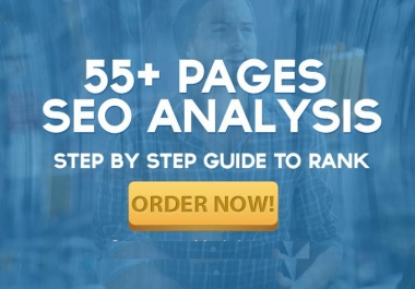 do Killer SEO Report of 55 Pages for Ranking
