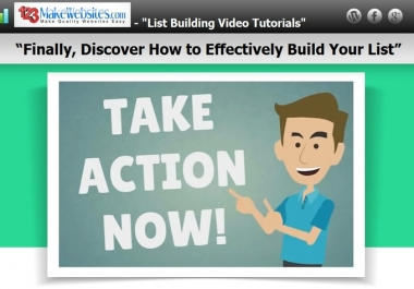 I will give you 1 to 10 Get Traffic mp4 Video Tutorials