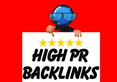 I will do SEO high pr backlinks Pyramid pr up to 9