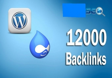 I will create 12,000 Verified Scrapebox Seo Backlinks UNLIMITED Websites And Keyword