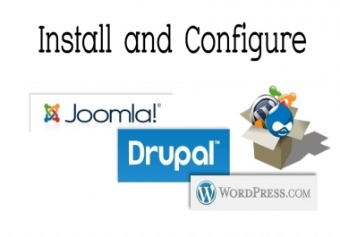 Install Wordpress , Drupal or Joomla on Your Hosting