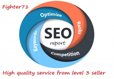 I will create a full Seo Report for your website using IBP