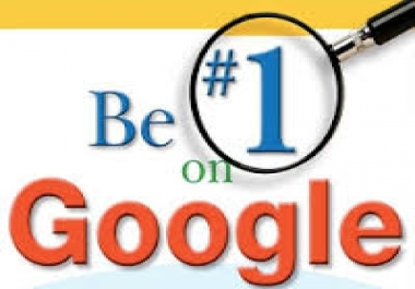 I will rank you 1st in Google SEO guaranteed