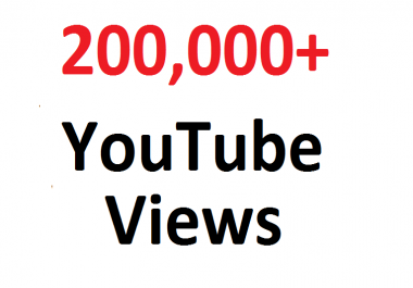 add 200000 200K SAFE YouTube hits Guaranteed