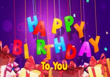 Birthday Niche Website Guest Post