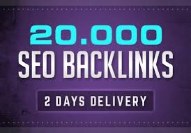 I will build 20000 GSA Ser backlinks for Google ranking