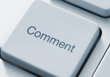 I will build 75 000 Blog COMMENTS
