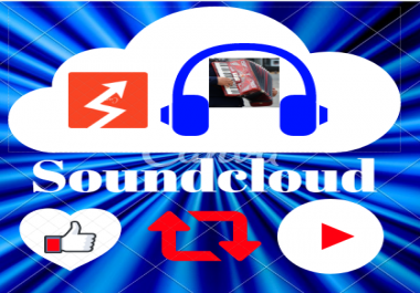 Get 375 to 450 high retention Soundcloud Plays