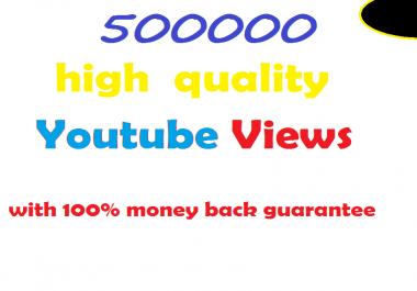 500k non-drop youtube views