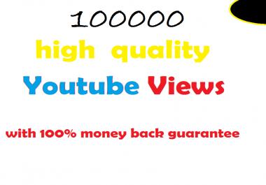 100k guaranteed non-drop views in 24 hours