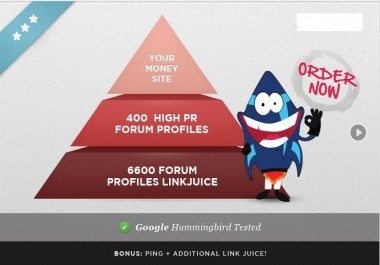 I will build a reliable backlink pyramid to your money site, Google friendly Buy here