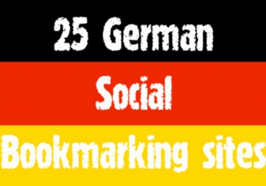 submit manually top 25 GERMAN social bookmarks@@!##$%