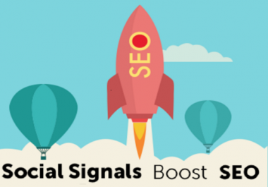 1500 Real Social Signals (Best SEO Ranking 2018)