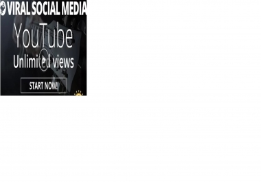 I will promote YouTube video UNLIMITED views opportunity with viral Social Media method