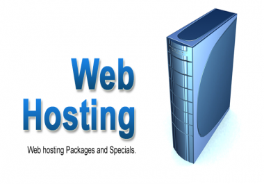Web Hosting, Disk Space 12GB, Bandwidth Unmetered, Unlimited AdOns Domain 1 Year