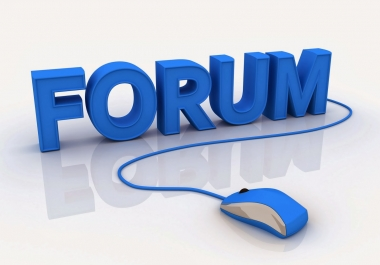 4000 forum backlinks (Posts & profiles)