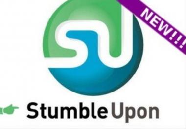 give 50 STUMBLE likes for your 10 links on StumbleUpon