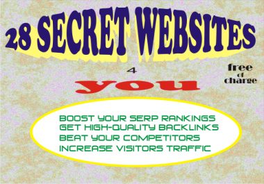 Get 20 Websites where you can submit your link to 1,300 SEARCH ENGINES +6,000 DIRECTORIES for FREE