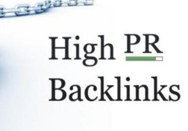get your website atleast 125 Google Friendly SEO Backlinks