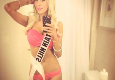 miss fountain hills USA will tweet over 60K fans